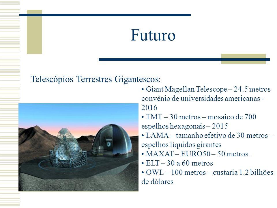Futuro Telescópios Terrestres Gigantescos: