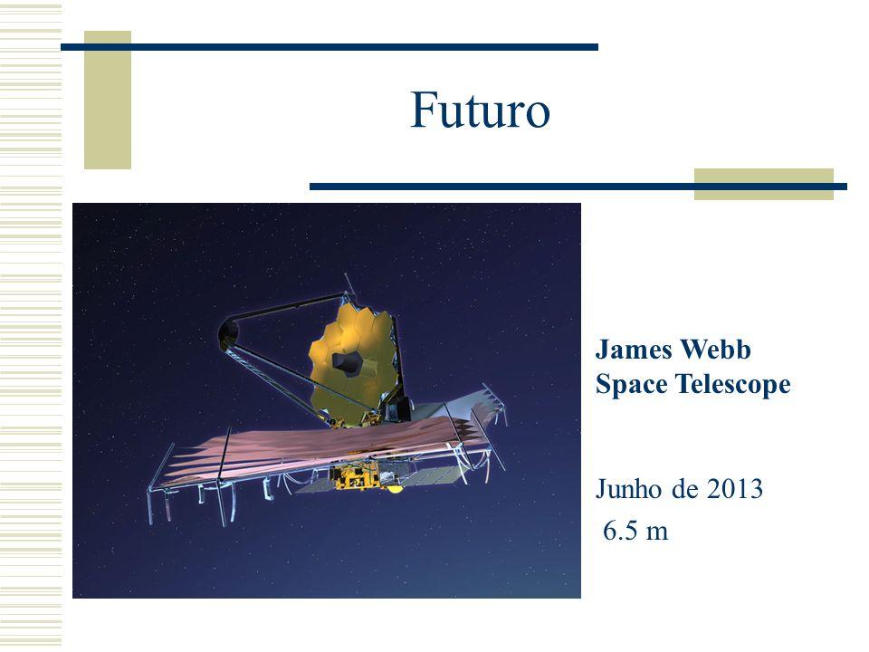 Futuro James Webb Space Telescope Junho de 2013 6.5 m