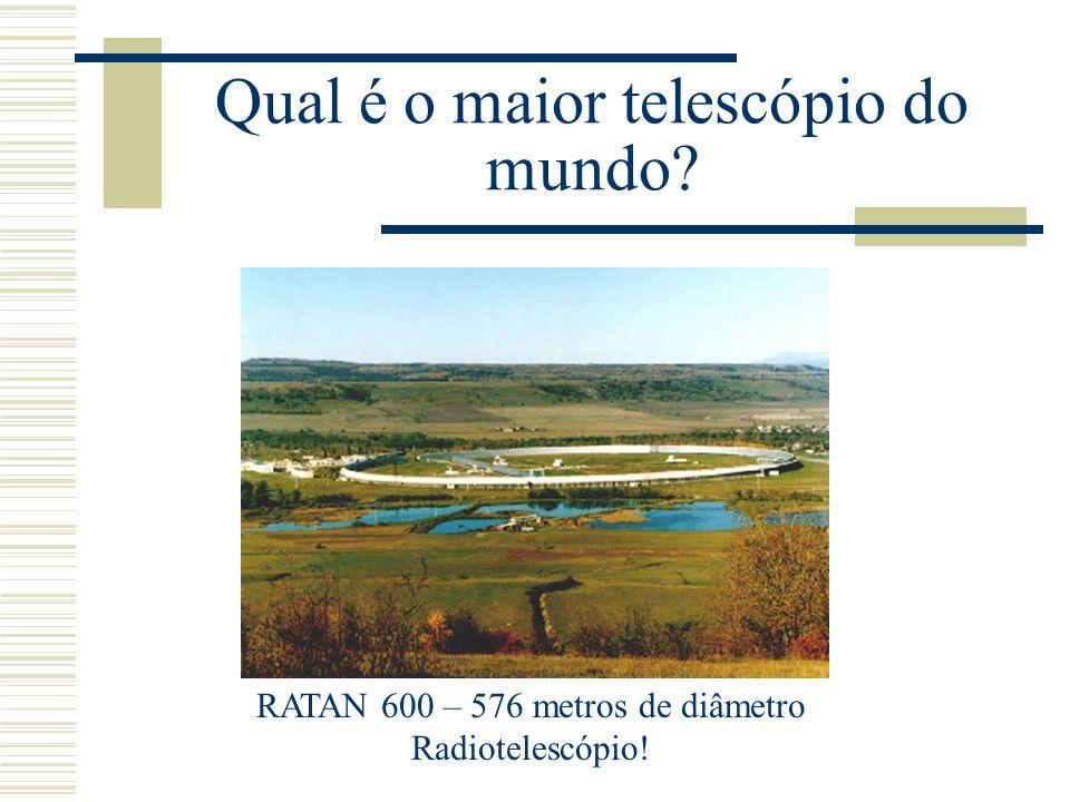 Qual é o maior telescópio do mundo