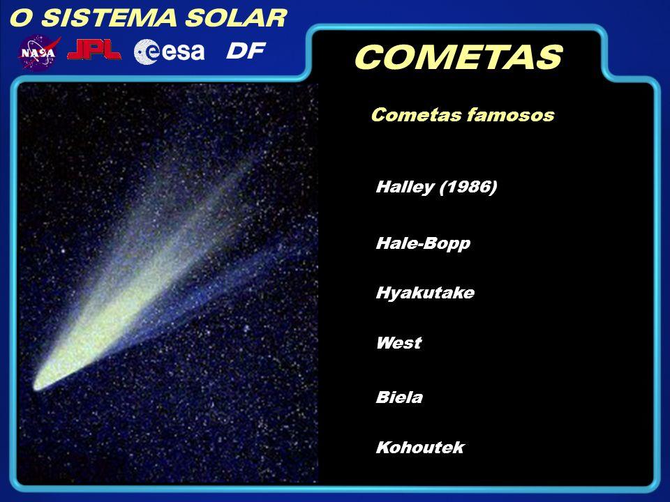 COMETAS O SISTEMA SOLAR DF Cometas famosos Halley (1986) Hale-Bopp