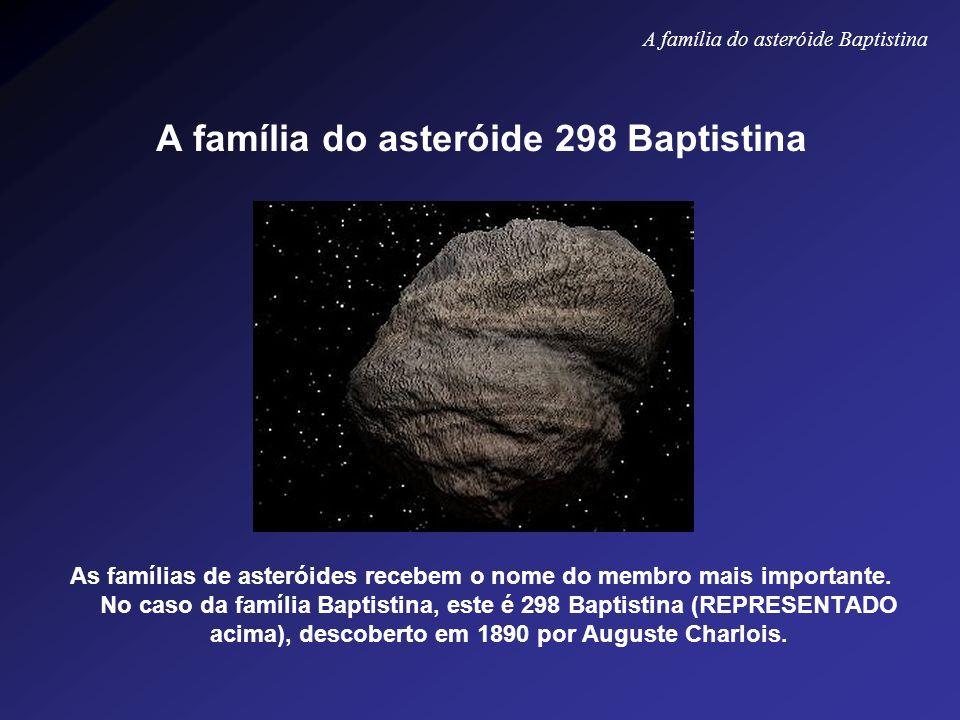 A família do asteróide 298 Baptistina