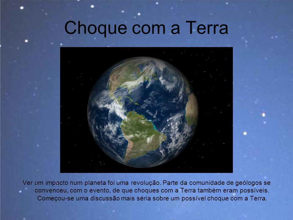 Choque com a Terra Imagem: Cellestia.