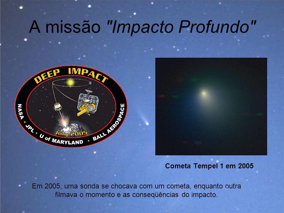 A missão Impacto Profundo