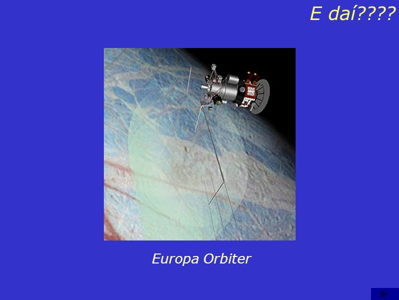 E daí Europa Orbiter