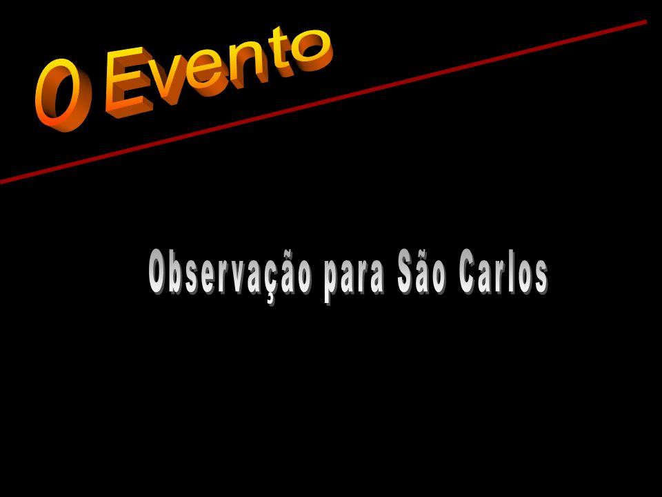 Observação para São Carlos
