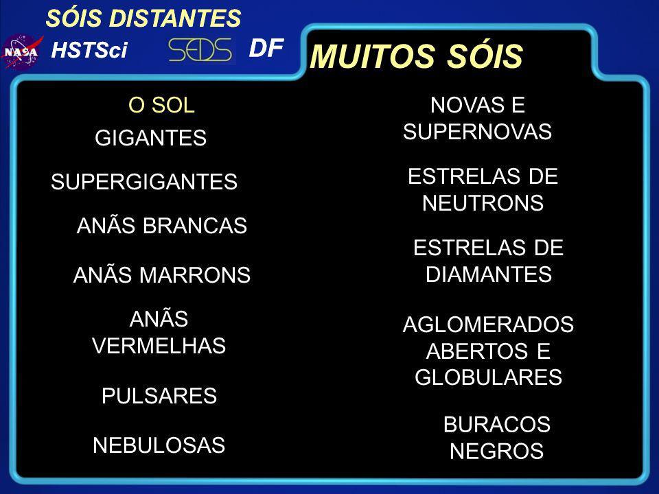 AGLOMERADOS ABERTOS E GLOBULARES