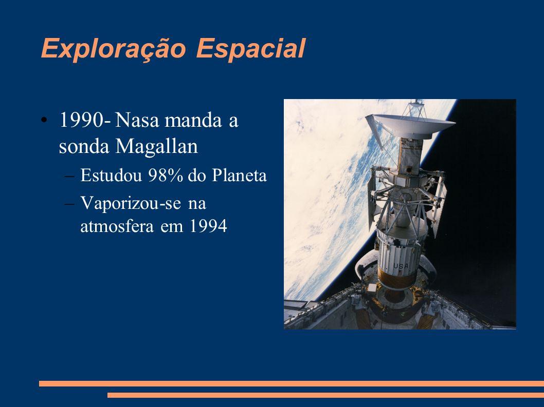 Exploração Espacial 1990- Nasa manda a sonda Magallan