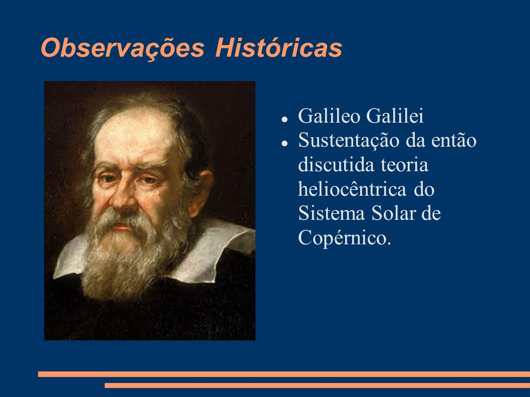 Observações Históricas