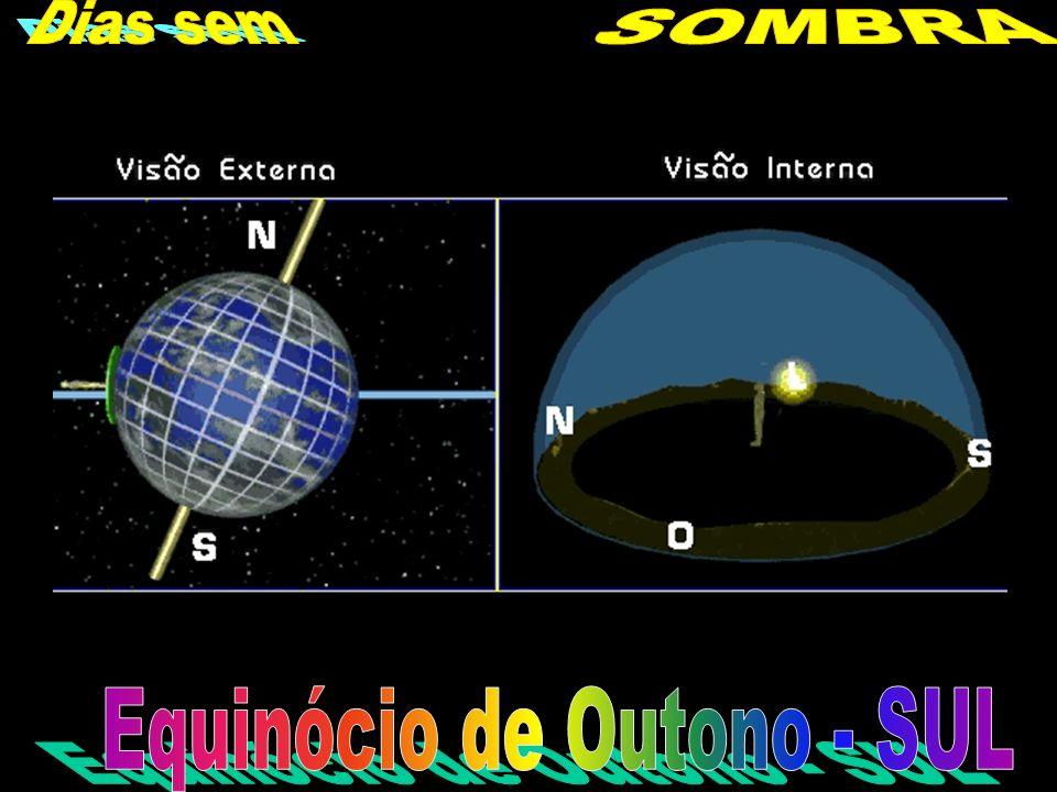 Equinócio de Outono - SUL