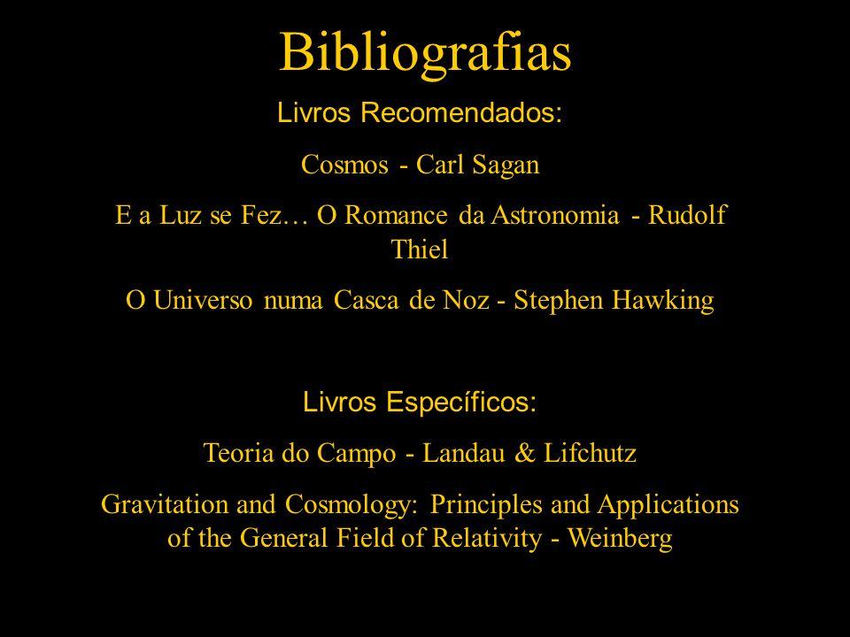 Bibliografias Livros Recomendados: Cosmos - Carl Sagan