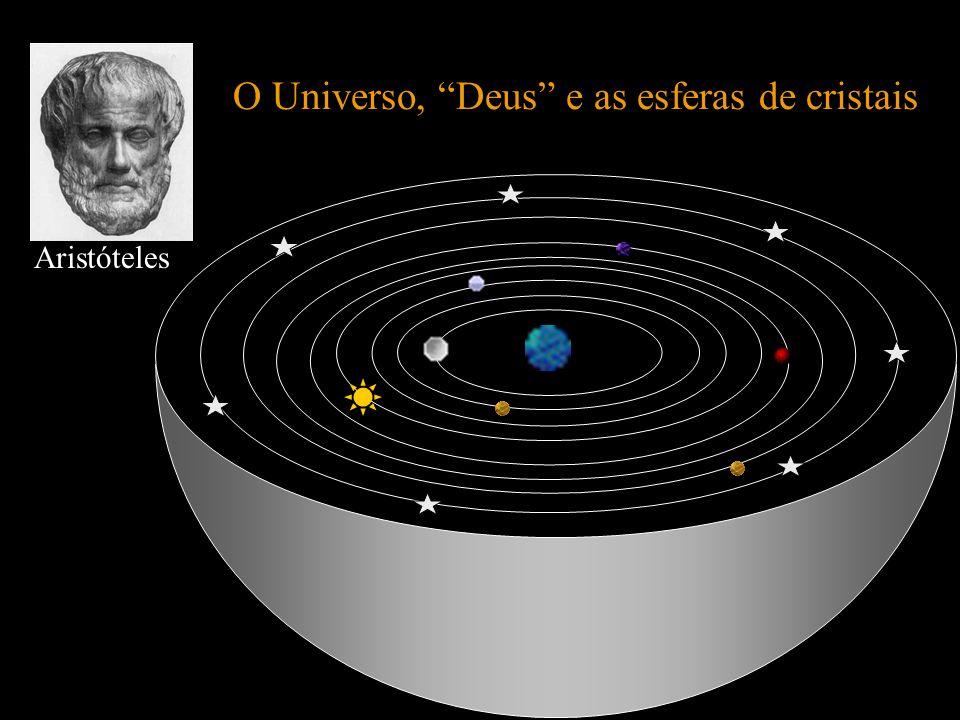 O Universo, Deus e as esferas de cristais