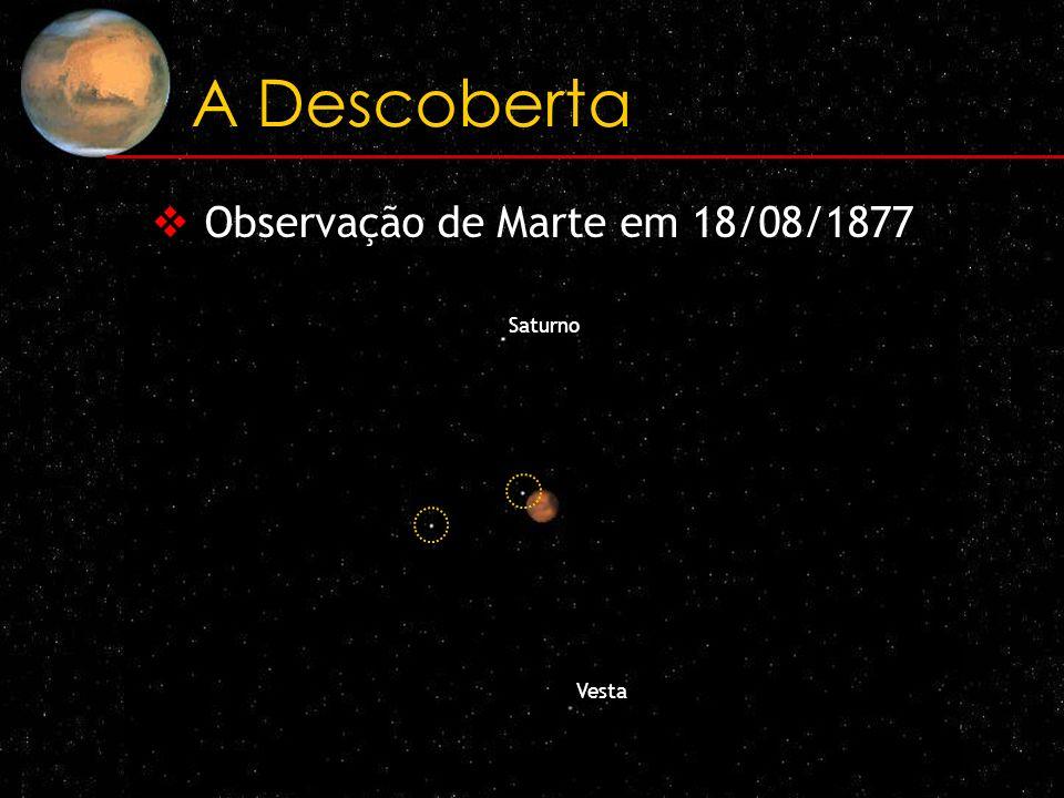 Observação de Marte em 18/08/1877