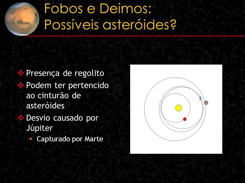Fobos e Deimos: Possíveis asteróides
