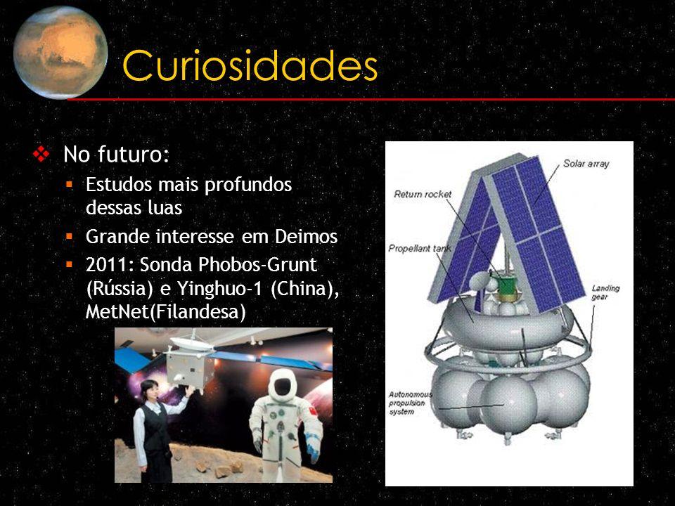 Curiosidades No futuro: Estudos mais profundos dessas luas