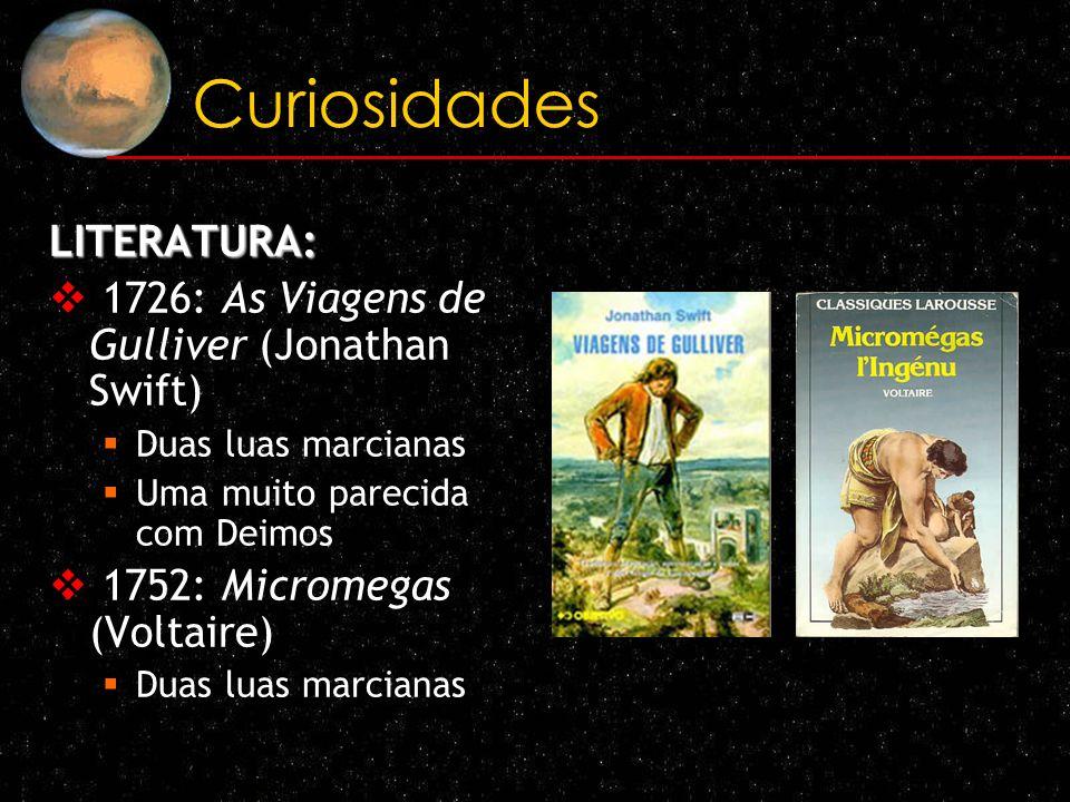 Curiosidades LITERATURA: 1726: As Viagens de Gulliver (Jonathan Swift)