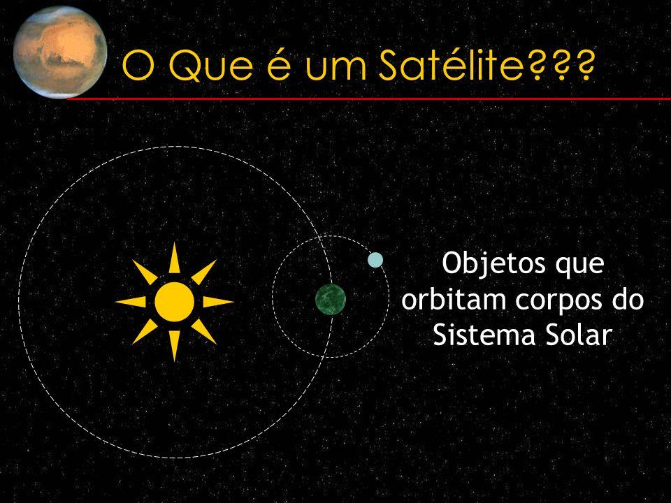 Objetos que orbitam corpos do Sistema Solar