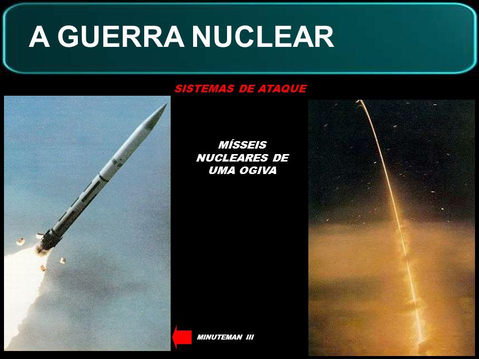 MÍSSEIS NUCLEARES DE UMA OGIVA
