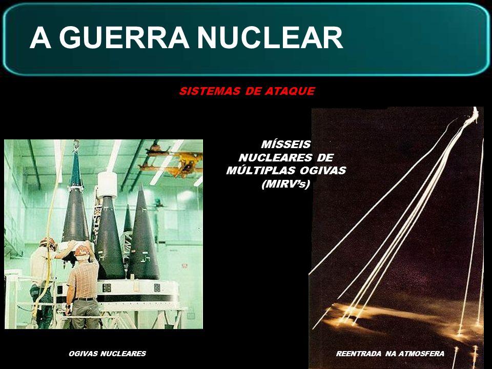 A GUERRA NUCLEAR SISTEMAS DE ATAQUE