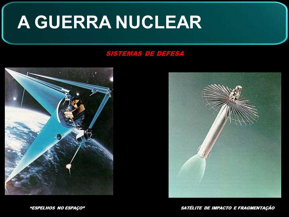 A GUERRA NUCLEAR SISTEMAS DE DEFESA ESPELHOS NO ESPAÇO