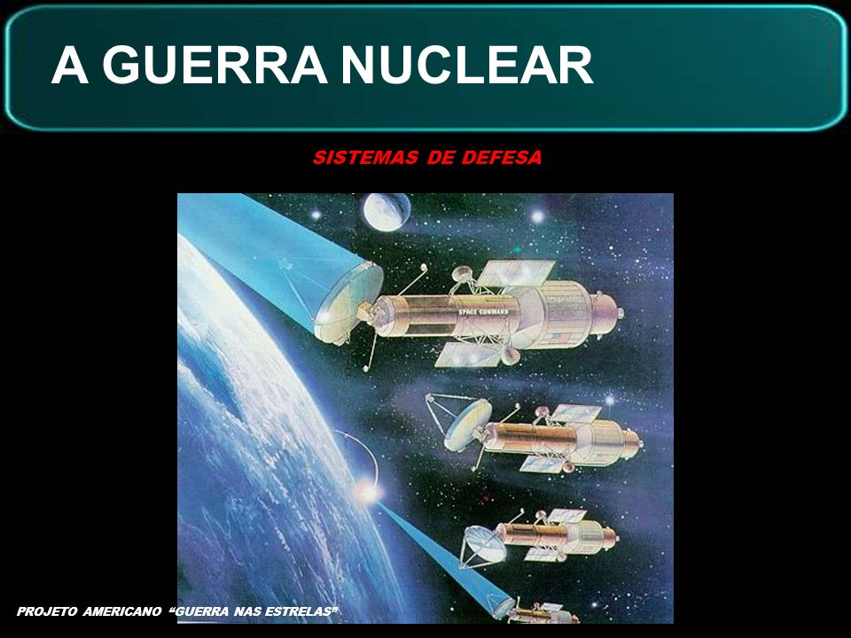 A GUERRA NUCLEAR SISTEMAS DE DEFESA