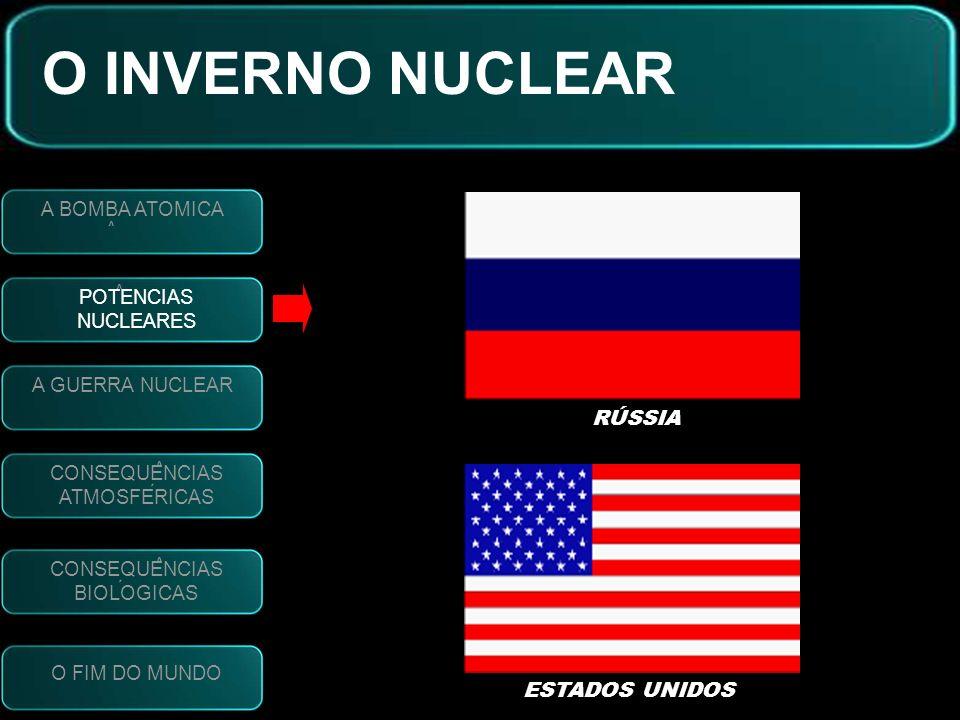 O INVERNO NUCLEAR RÚSSIA ESTADOS UNIDOS A BOMBA ATOMICA