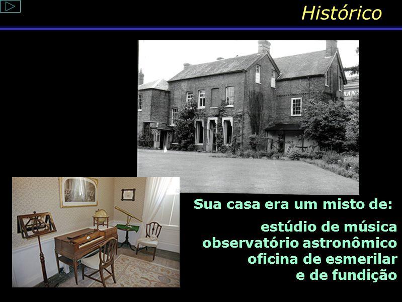Histórico Histórico Sua casa era um misto de: estúdio de música