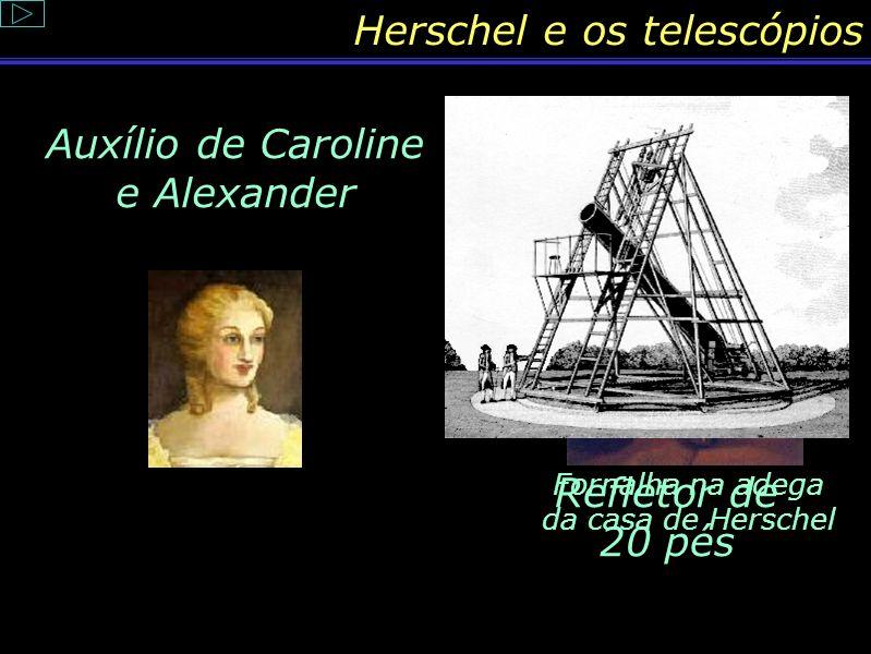 Herschel e seus telescópios