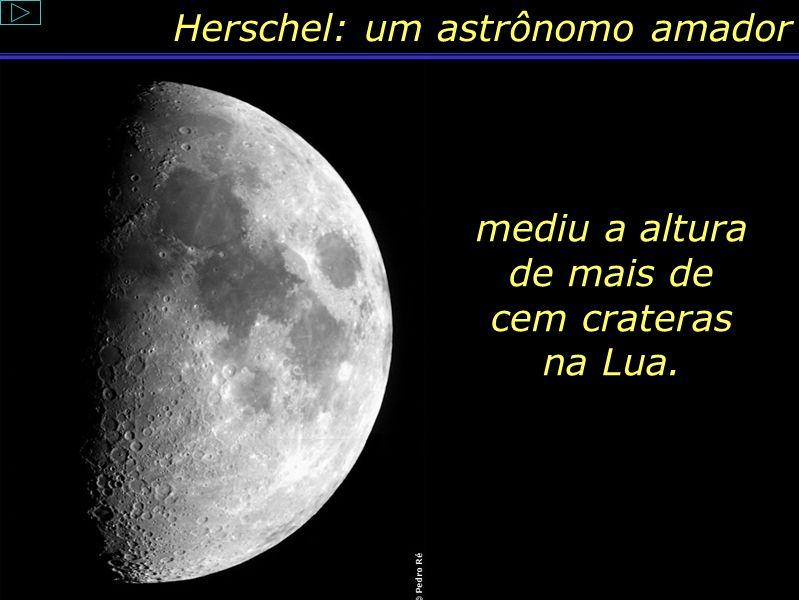 mediu a altura de mais de cem crateras na Lua.