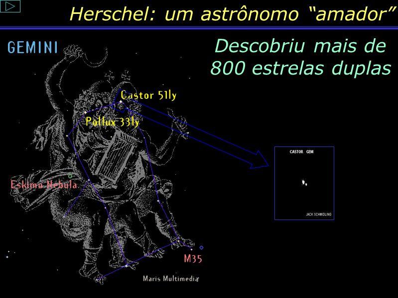 Descobriu mais de 800 estrelas duplas