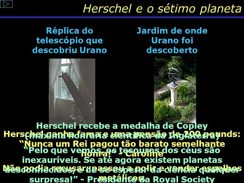 Herschel e o sétimo planeta