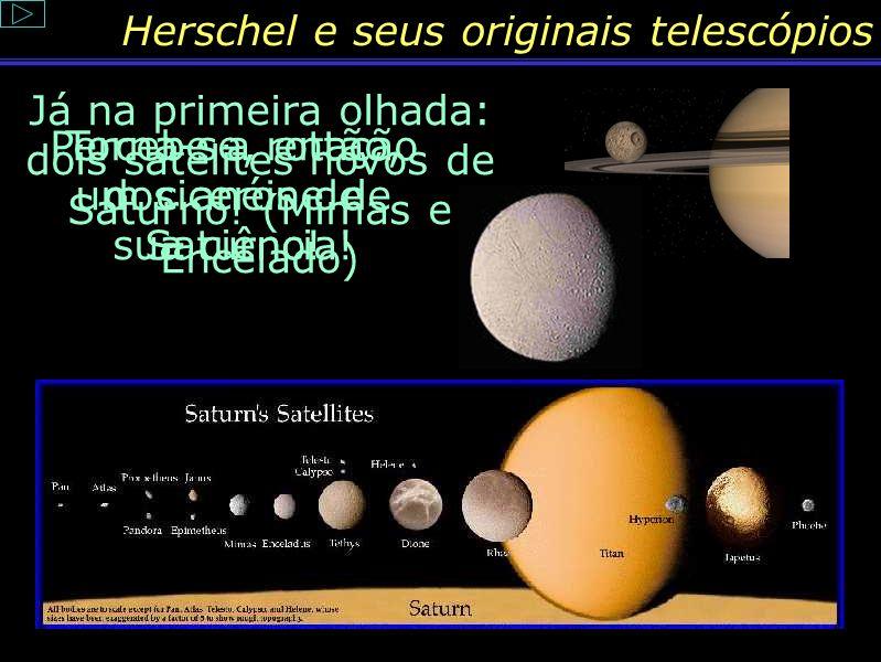 Herschel e seus originais telescópios
