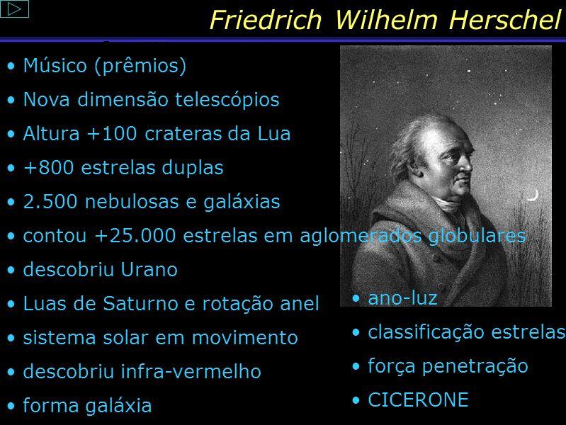 Friedrich Wilhelm Herschel Sim, é o fim!!!