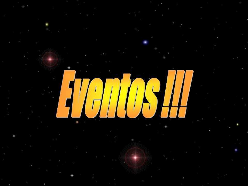 Eventos !!!