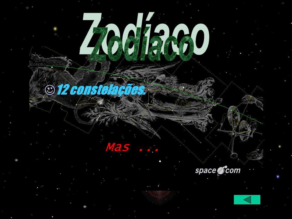 Zodíaco 12 constelações. Mas ...