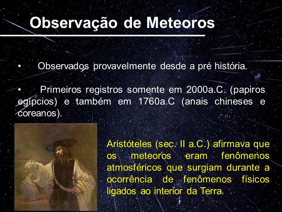 Observação de Meteoros
