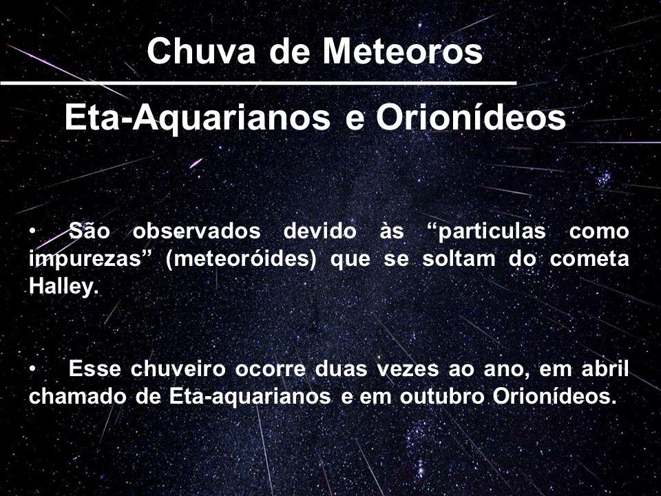 Eta-Aquarianos e Orionídeos