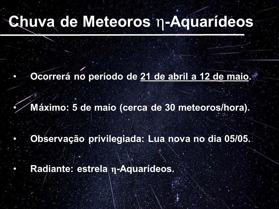 Chuva de Meteoros η-Aquarídeos