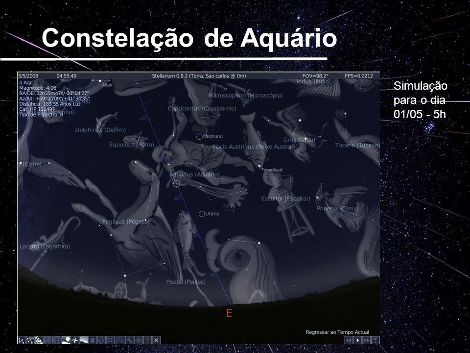 Constelação de Aquário