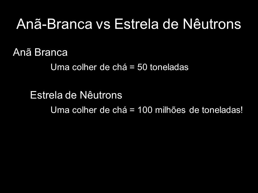 Anã-Branca vs Estrela de Nêutrons