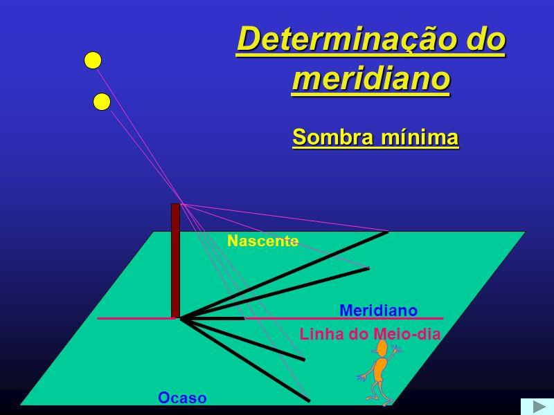 Determinação do meridiano