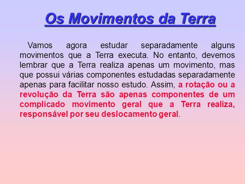 Os Movimentos da Terra
