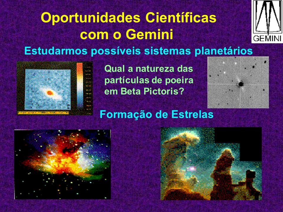 Oportunidades Científicas com o Gemini