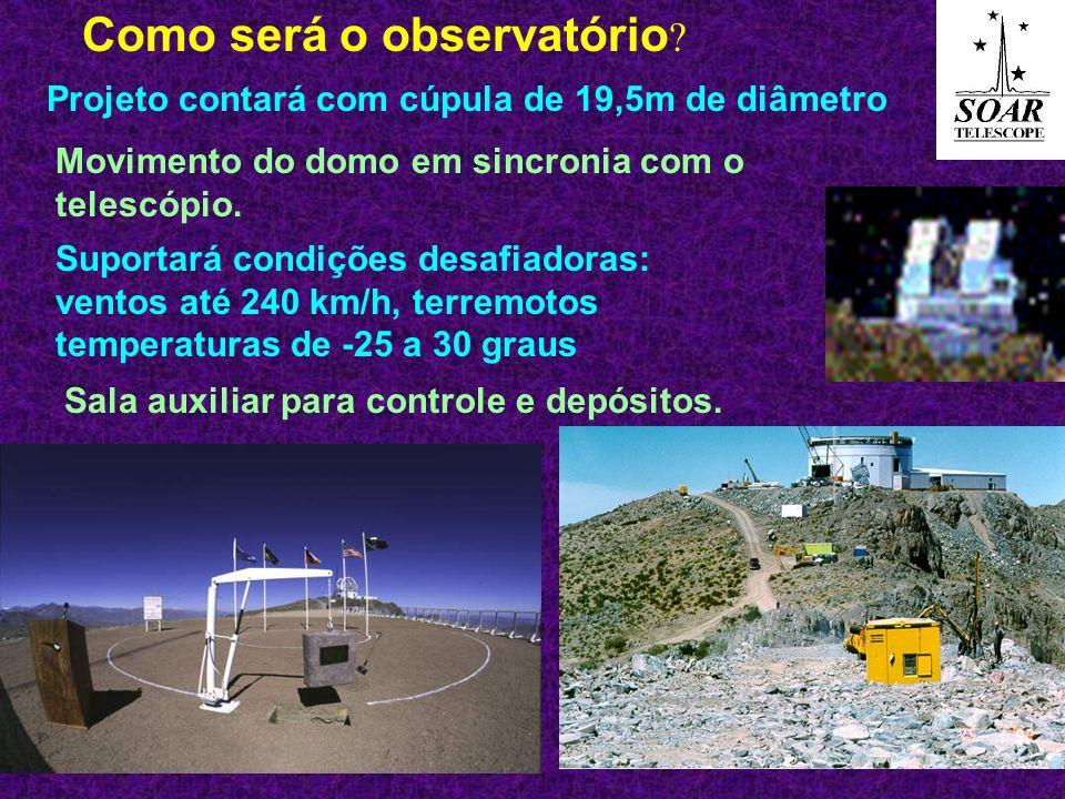 Como será o observatório