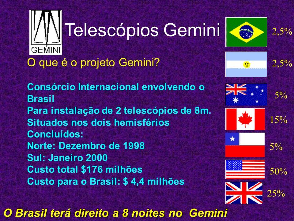 Telescópios Gemini O que é o projeto Gemini