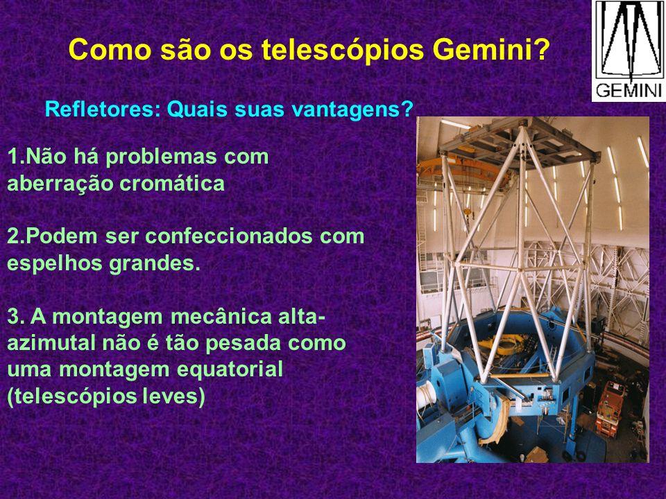 Como são os telescópios Gemini