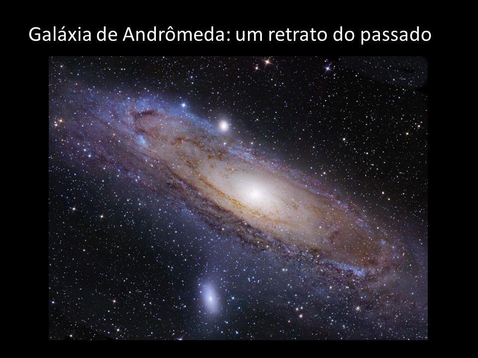 Galáxia de Andrômeda: um retrato do passado
