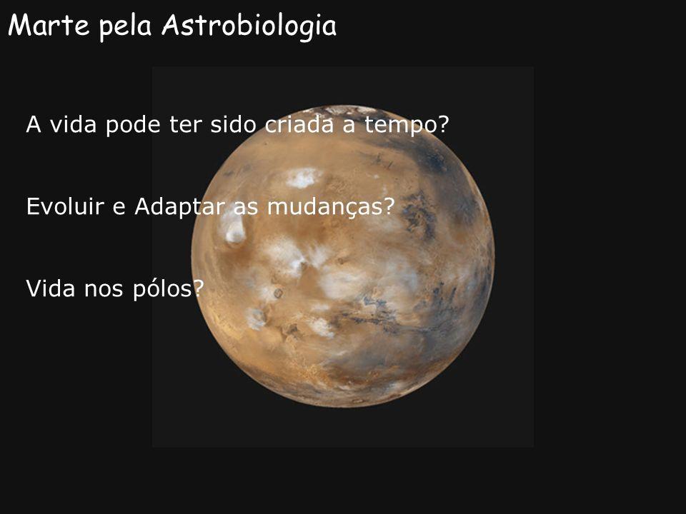 Marte pela Astrobiologia
