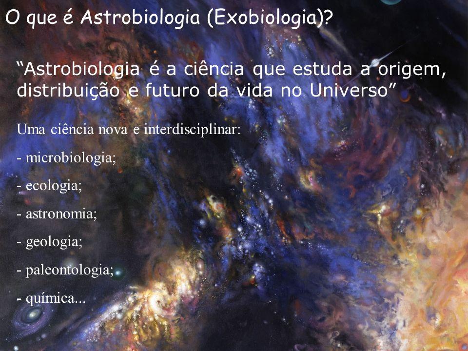 O que é Astrobiologia (Exobiologia)