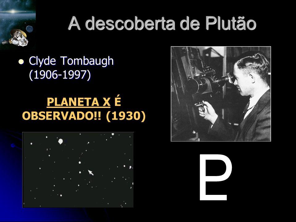 PLANETA X É OBSERVADO!! (1930)