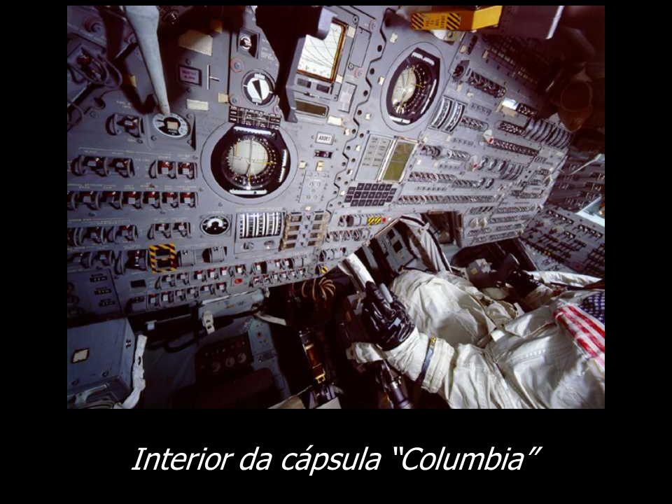 Interior da cápsula Columbia
